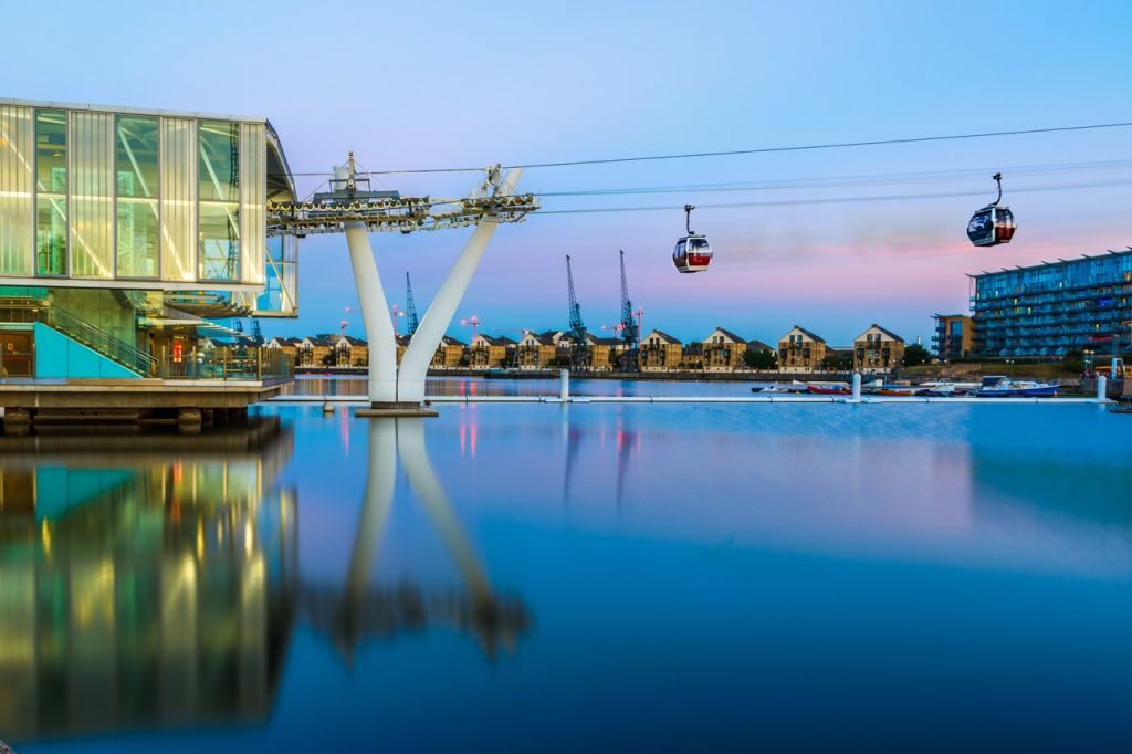 The Emirates Air Line London