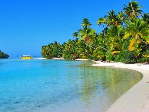Landscape of Cook Islands