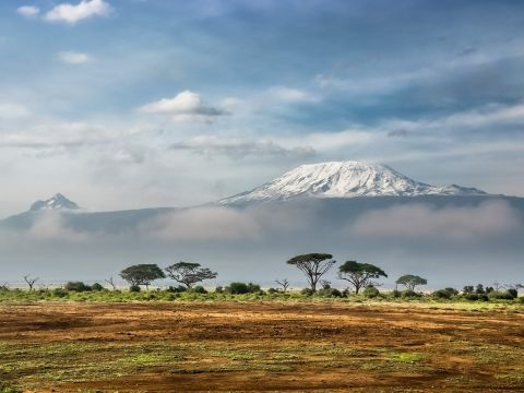 Landscape of Kenya