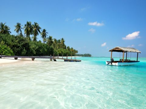 Landscape of Maldives