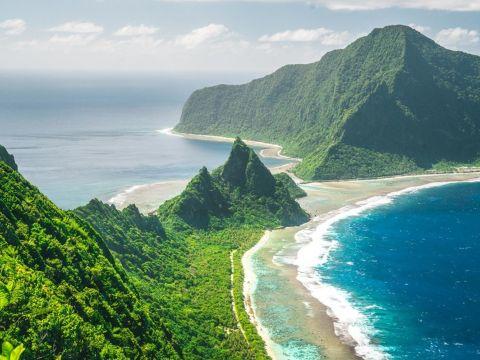 Landscape of Samoa