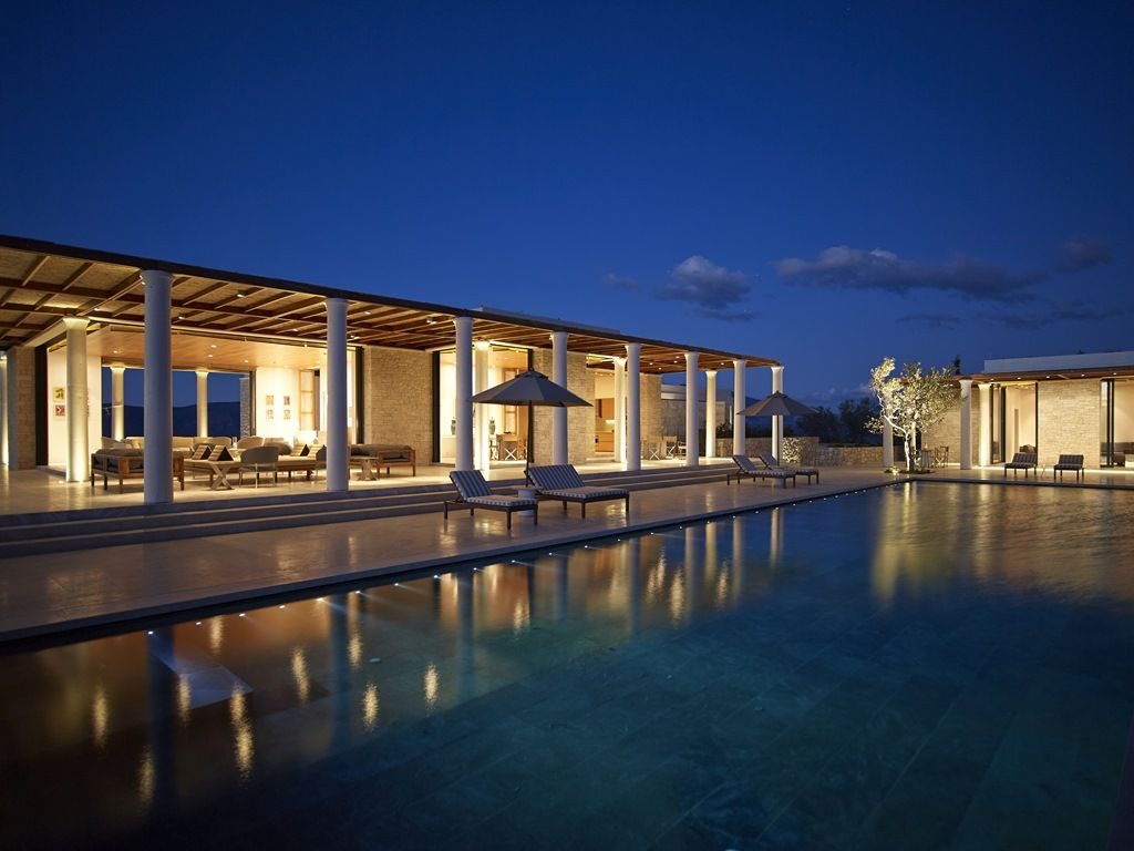 6 Bedroom Villa at Amanzoe Porto Heli