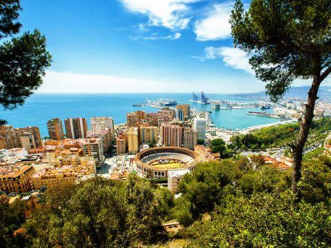 Landscape of Malaga Province
