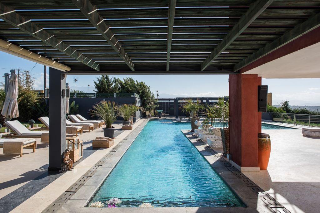 Pool at Villa Lene Chania