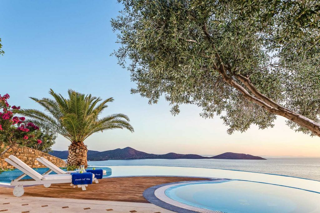 Pool at Presidential Spa Pool Villas Elounda