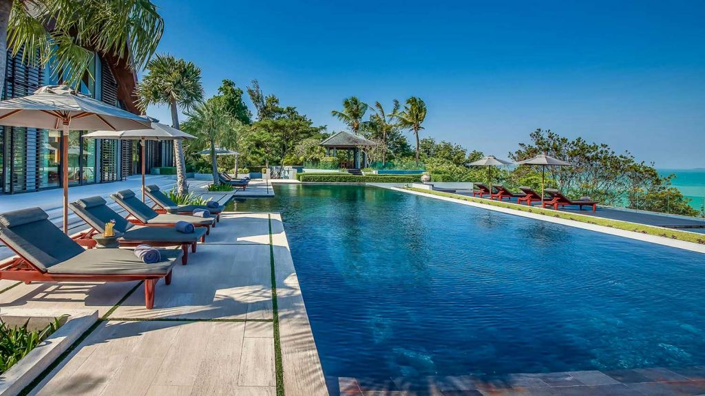 Pool at Villa Sawarin Phuket