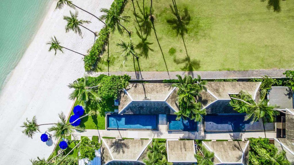 Pool at Villa Akatsuki Samui