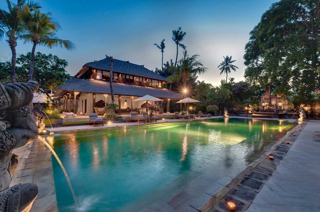 Pool at Villa Batujimbar Bali