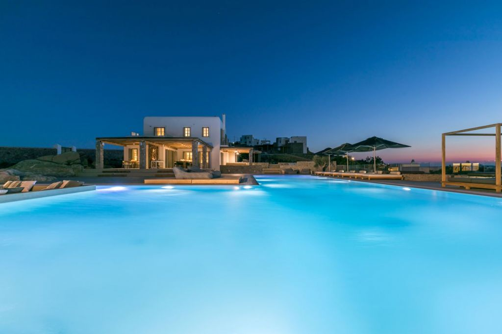 Pool at Villa Arion Mykonos