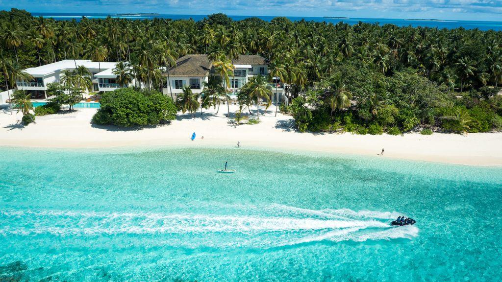 Beach Villa - The Amilla Villa Estate Maldives