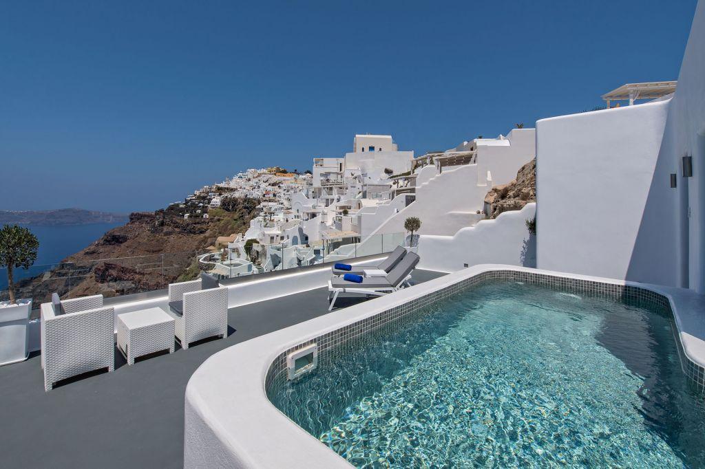 Honeymoon Pool Suite at Pegasus Suites Santorini
