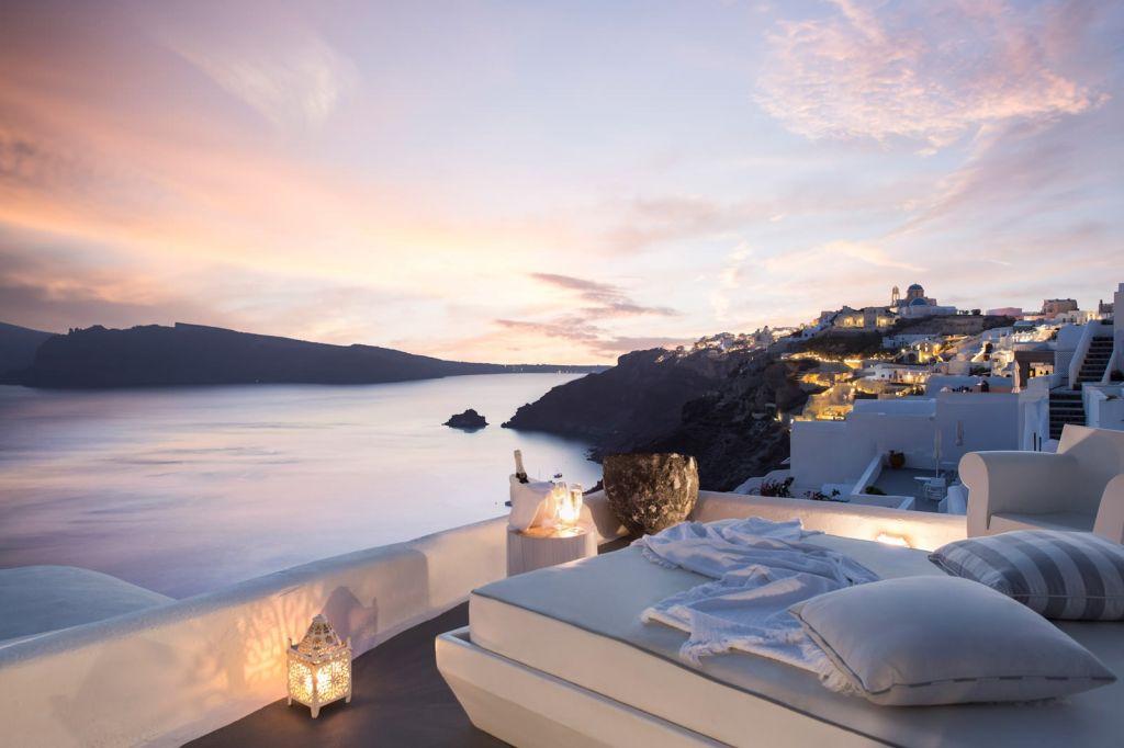 Honeymoon Suite at Kirini Santorini