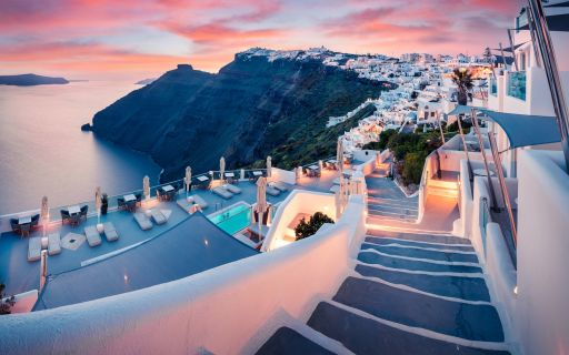 The ultimate romantic getaway! Honeymoon in Santorini, Greec