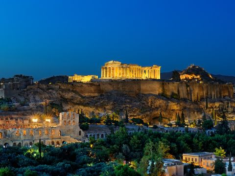 Landscape of Greece