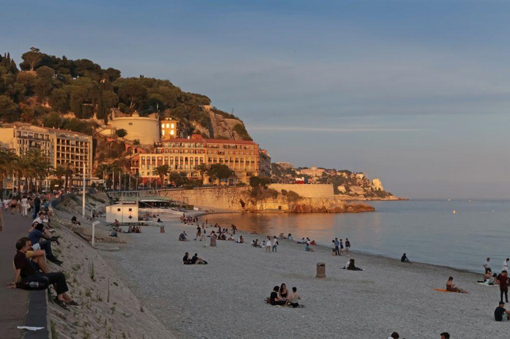 Opera Plage Beach, Nice, France