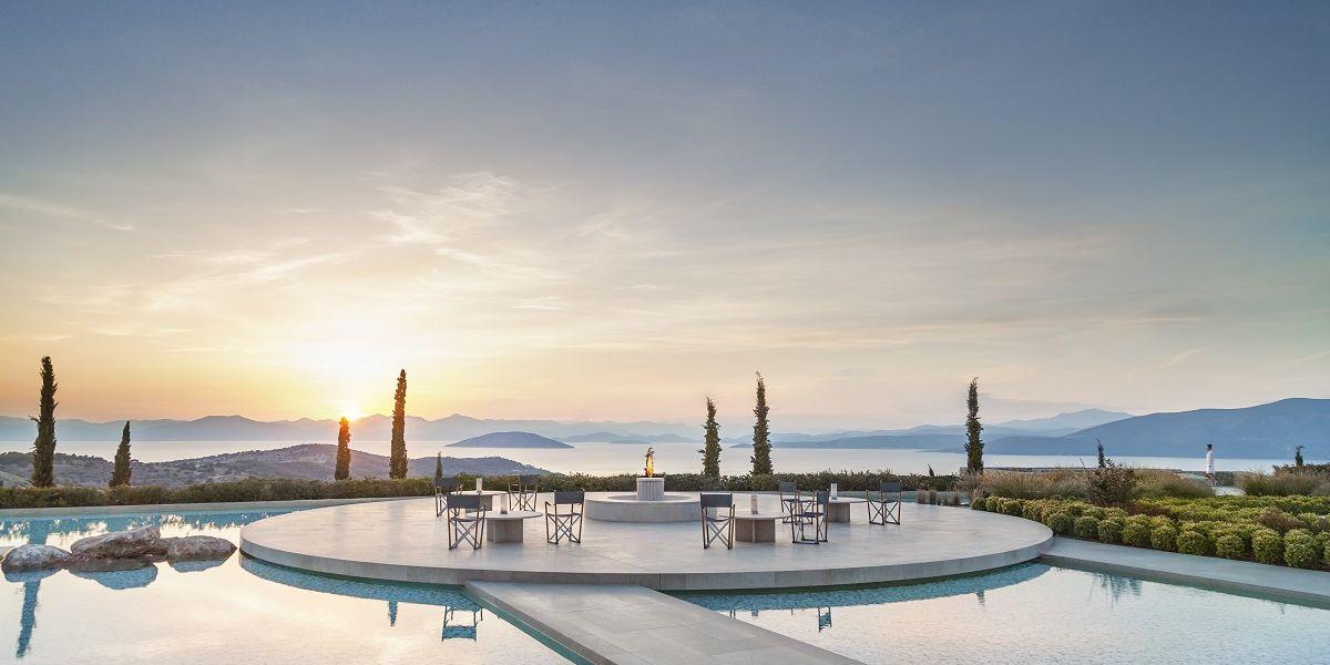 Amanzoe, luxury resort in Porto Heli