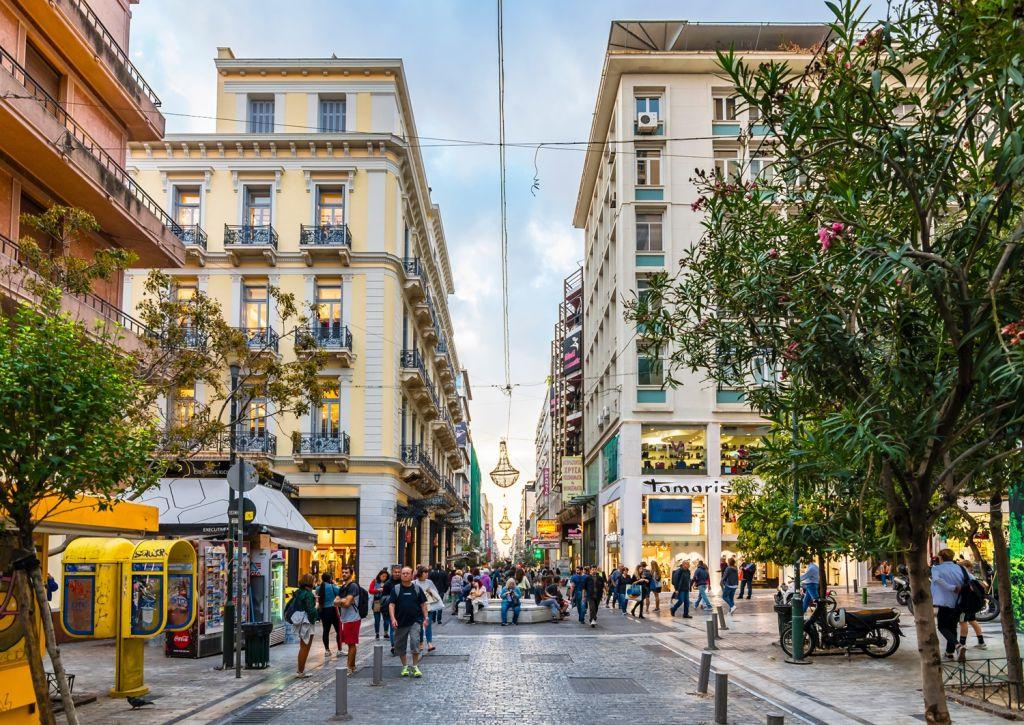 shopping Athens