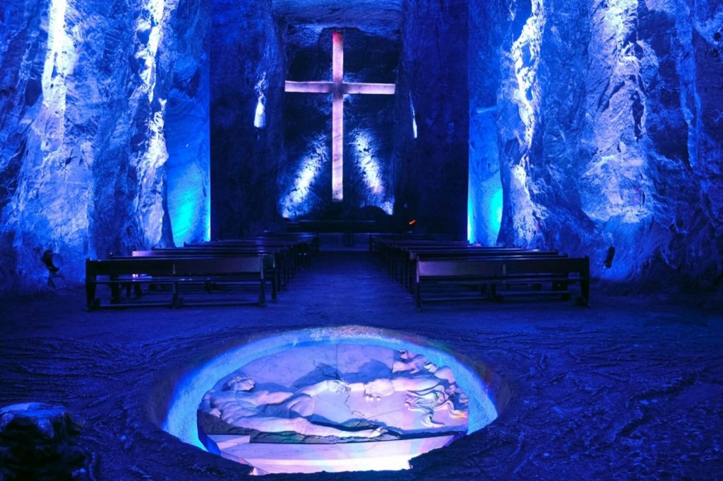 Salt Cathedral of Zipaquirá Colombia