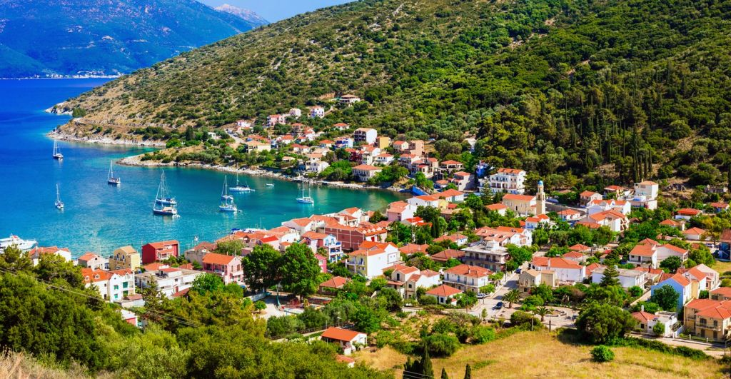 Discover the charming settlements Kefalonia