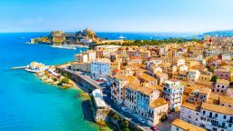 Explore the town of Corfu
