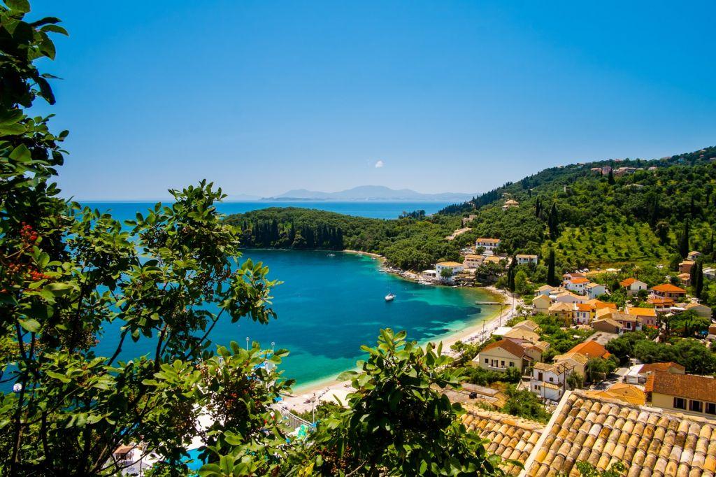 village Corfu