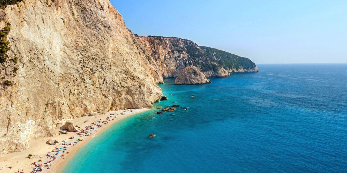 Top beaches of Lefkada Island