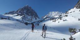 Skiing in Lech, Arlberg, Austria