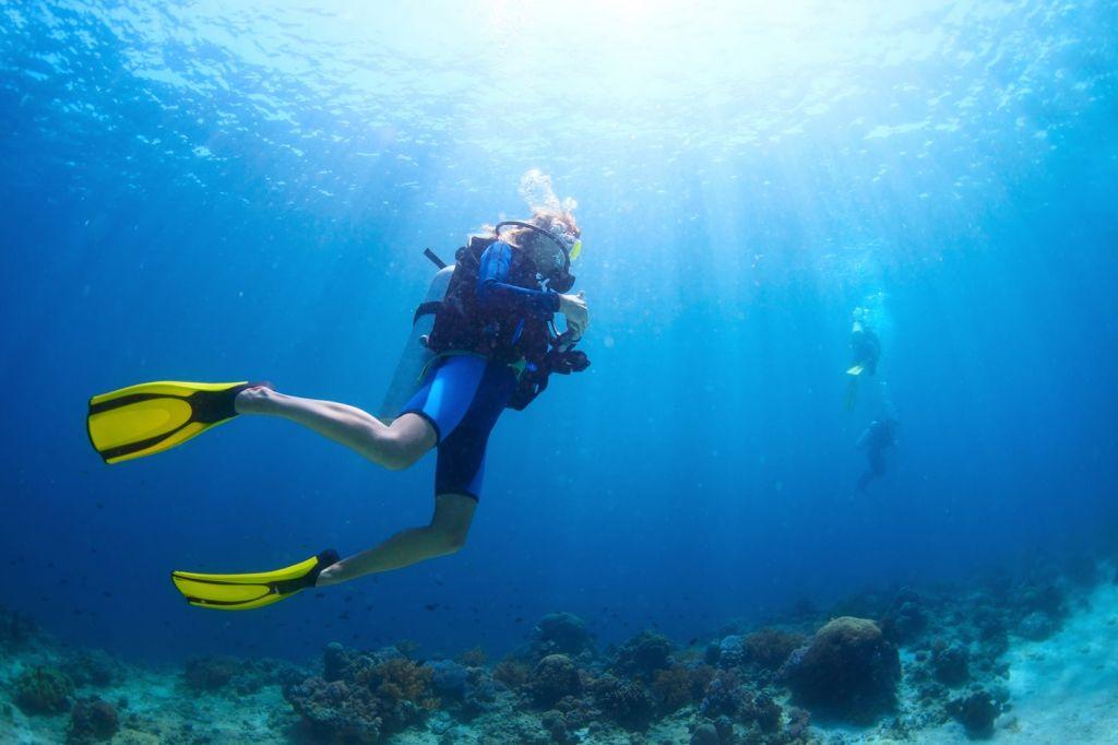 Scuba diving Boracay Island