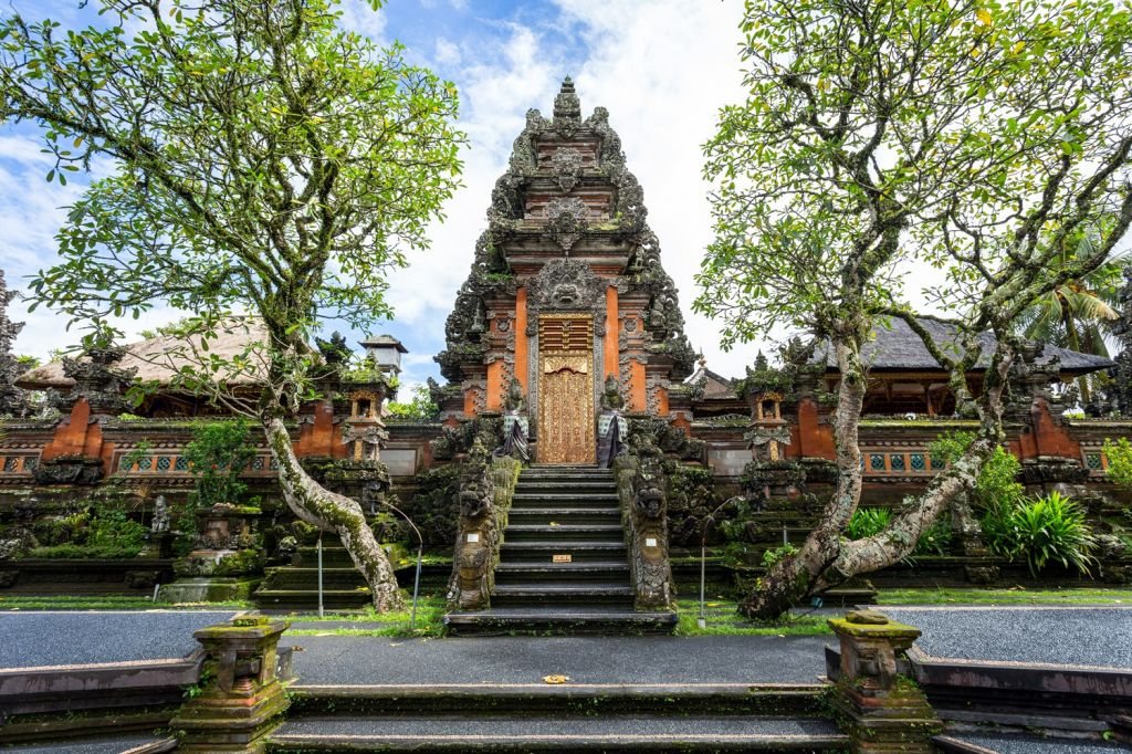 Spectacular temples Bali