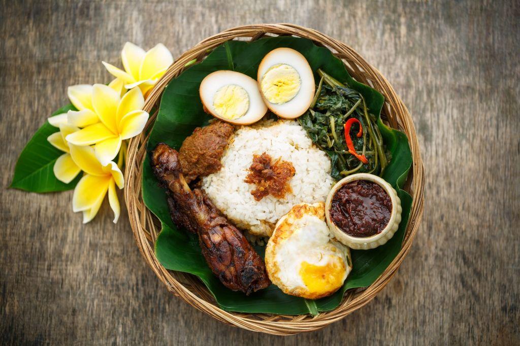 Nasi Ayam and Nasi Campur Bali