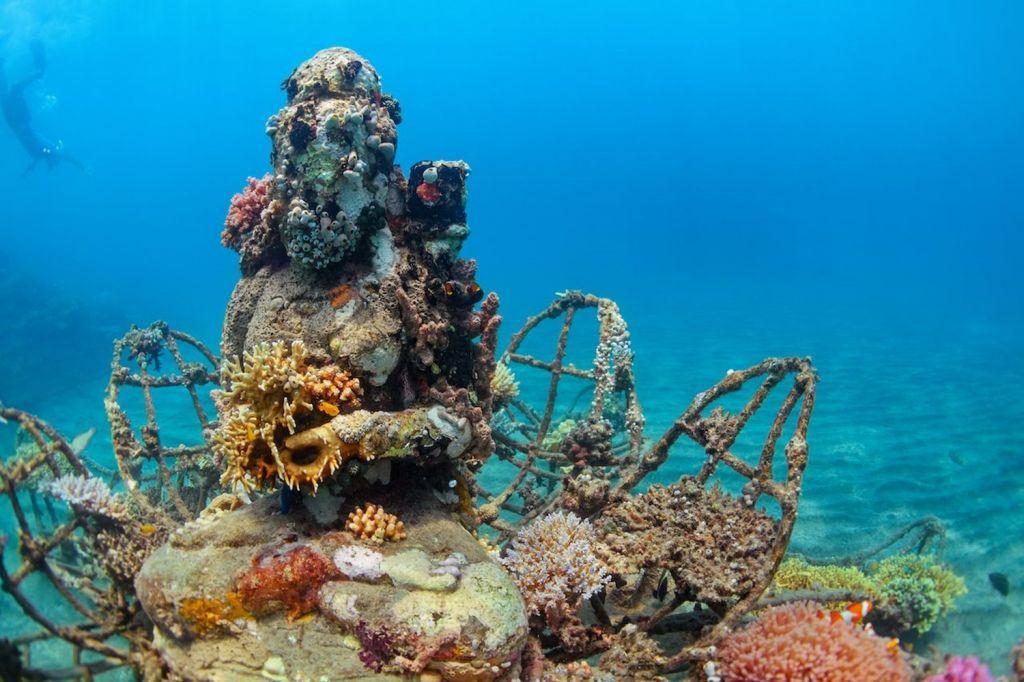 Karang Lestari Bio-Rock Reef Project Bali