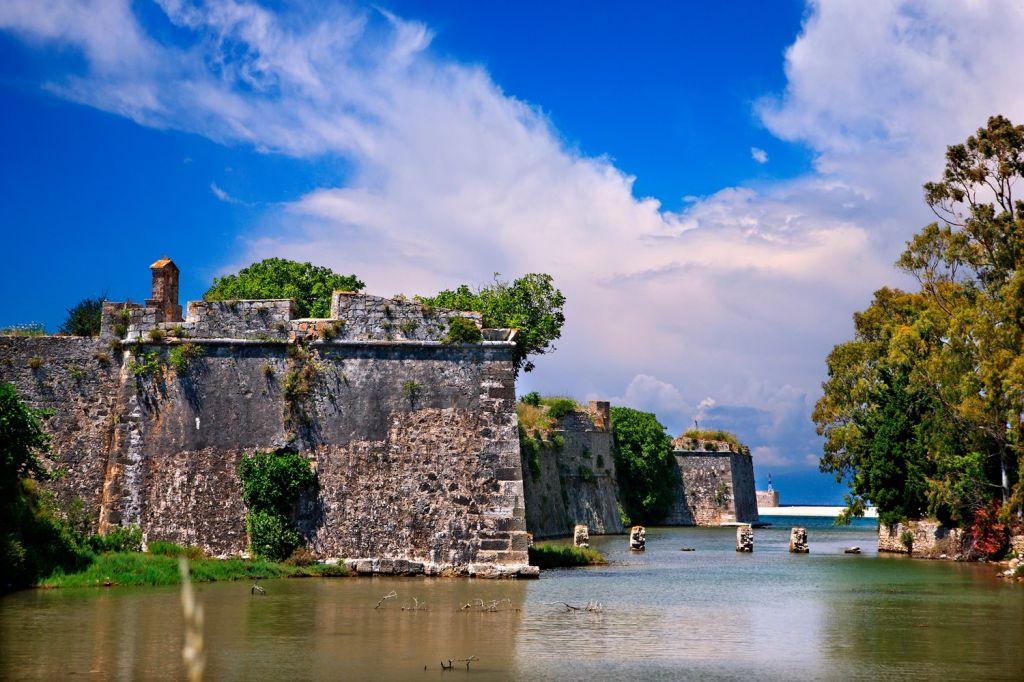 The Castle of Agia Mavra Lefkada
