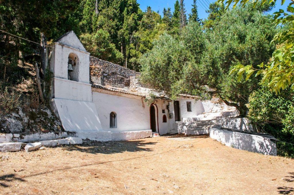 The church of Agios Ioannis Antzoussis Lefkada