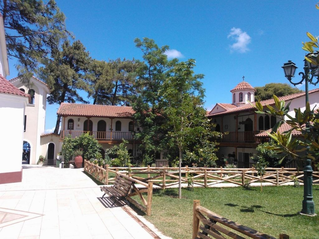 The Monastery of Panagia Faneromeni Lefkada