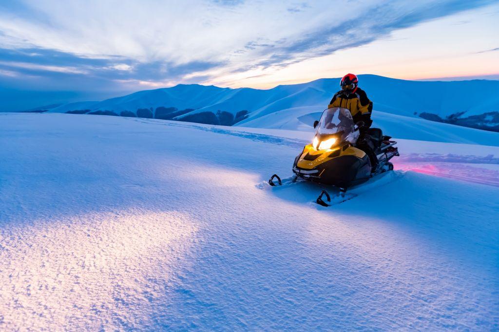 non skiers Mont Blanc