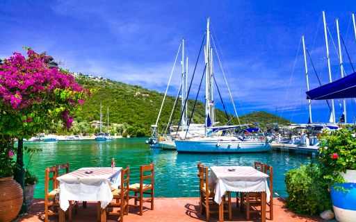 Eating out in Lefkada