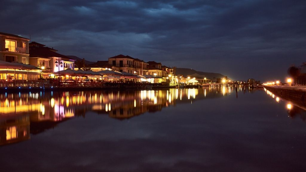 Lefkada's main town