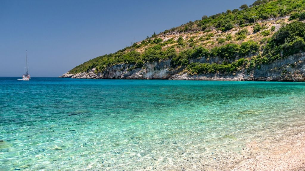 Makris Yialos Beach Zante