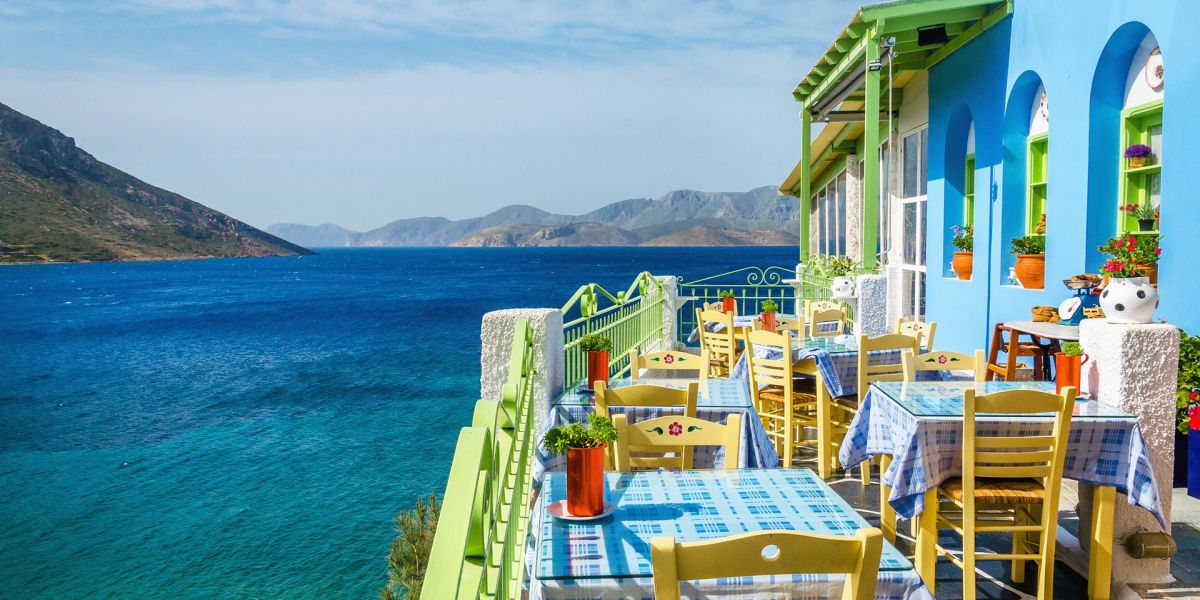 Eating out in Zante