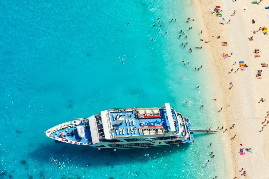 Enjoy boat trips - Zante