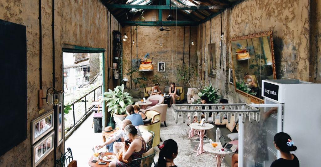Lazy Cats Cafe Ubud,Bali