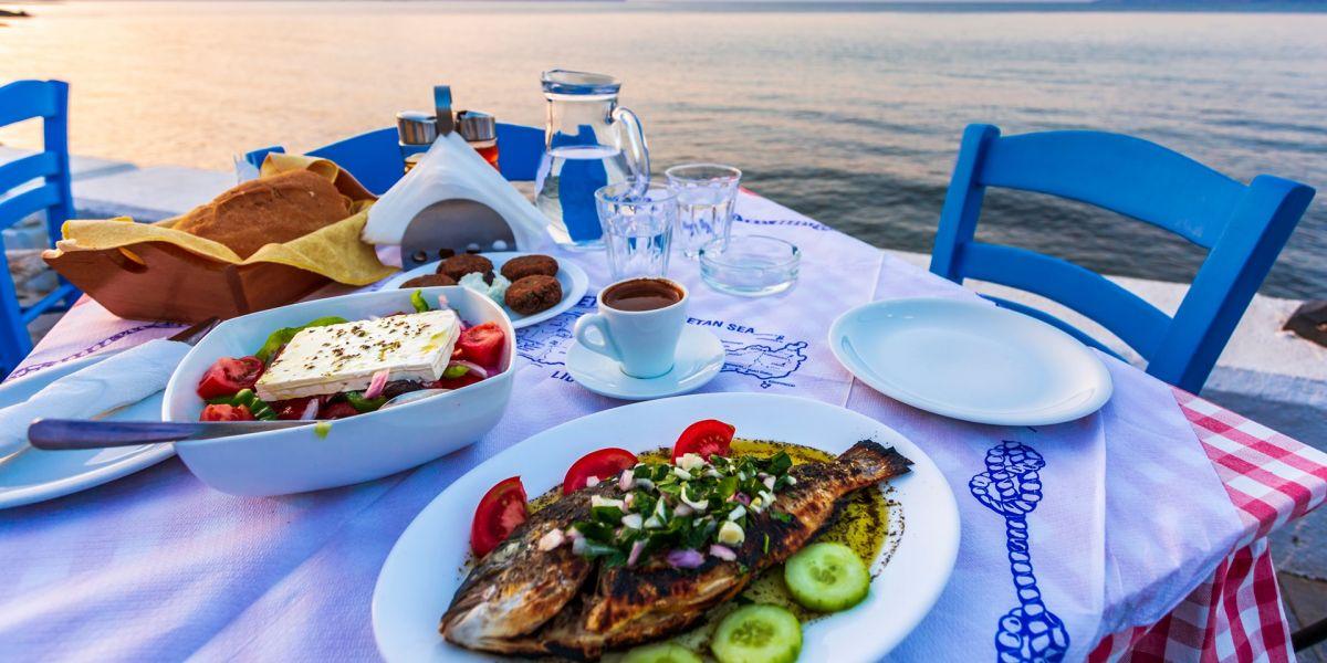 Local cuisine of Naxos