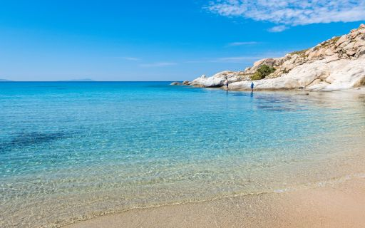 Top beaches in Naxos
