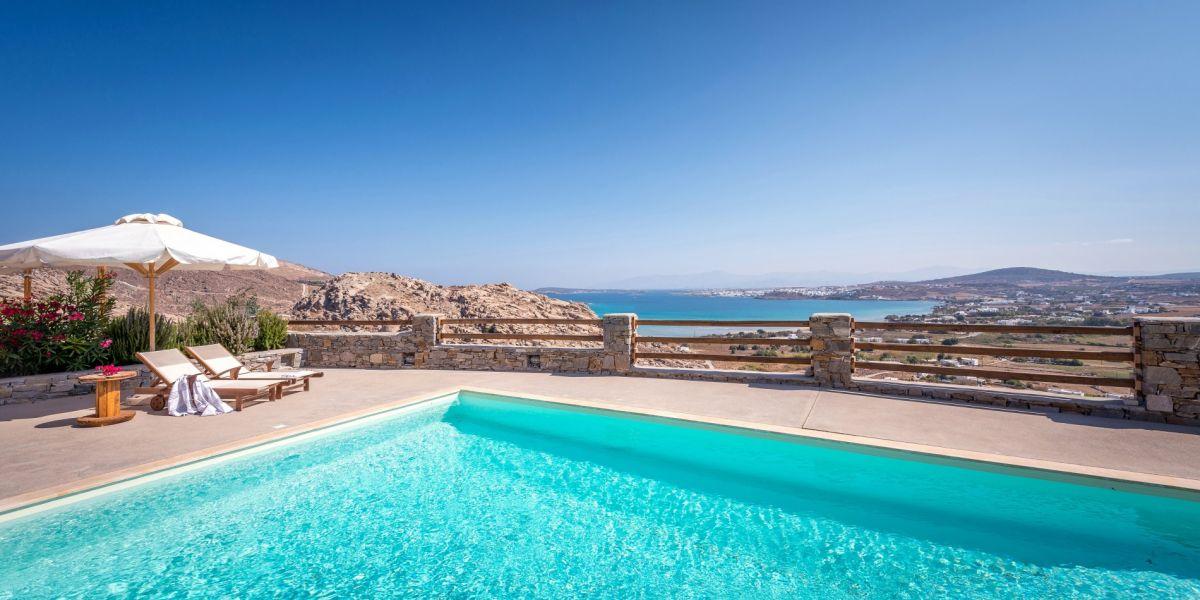 Top villas to rent in Paros Island