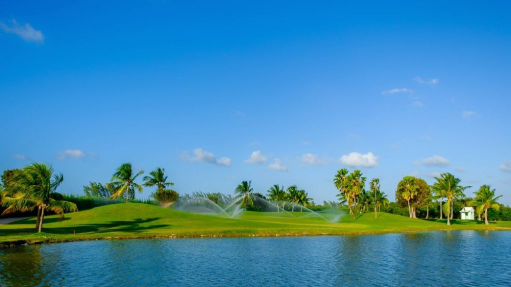 Golf in Caribbean