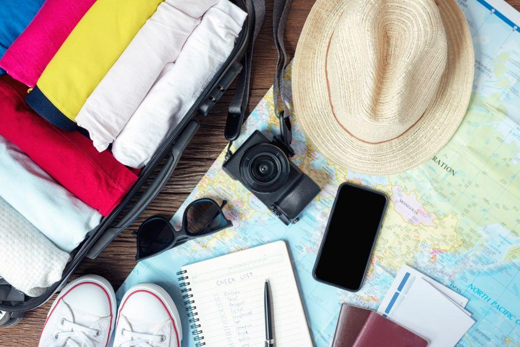 Make a list of honeymoon packing list