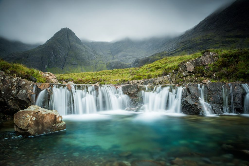 Fairy Pools in Scotland