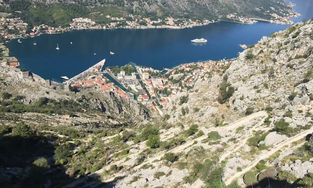 Hiking the Ladder of Kotor in Montenegro