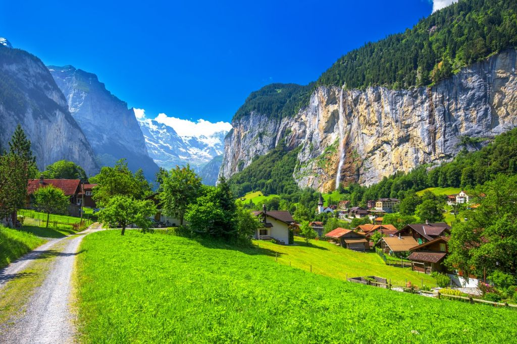 Lauterbrunnen in Switzerland