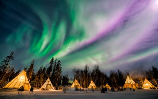 MAGICAL PLACES TO VIEW AURORAS